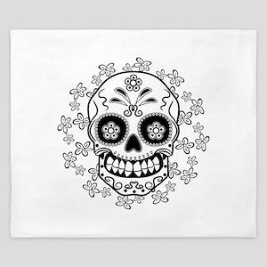 Sugar Skull King Duvet
