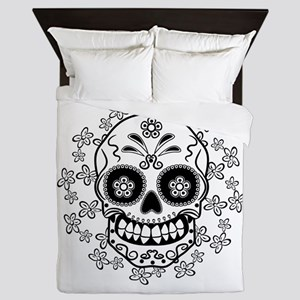 Sugar Skull Queen Duvet