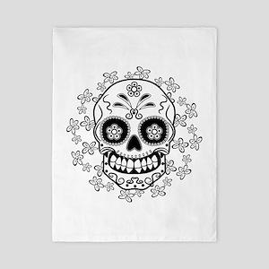Sugar Skull Twin Duvet