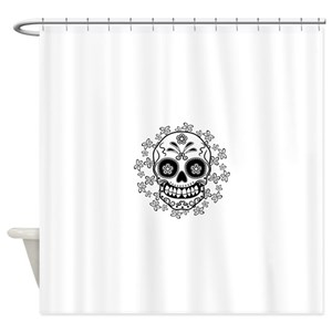 Dia De Los Muertos Shower Curtains