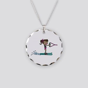 Water Ski Girl Necklace