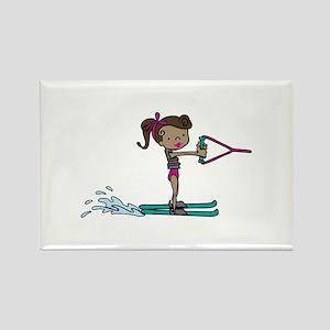 Water Ski Girl Magnets
