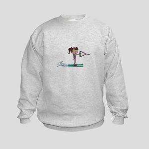 Water Ski Girl Sweatshirt