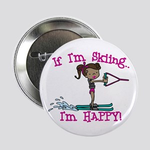 "Happy Ski 2.25"" Button"