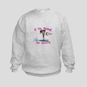 Happy Ski Sweatshirt