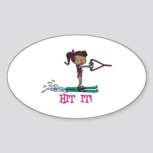 Hit It Sticker