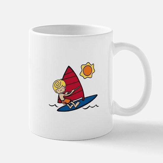 Windsurf Boy Mugs