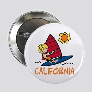 """Windsurf California 2.25"""" Button"""