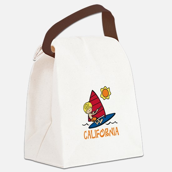 Windsurf California Canvas Lunch Bag