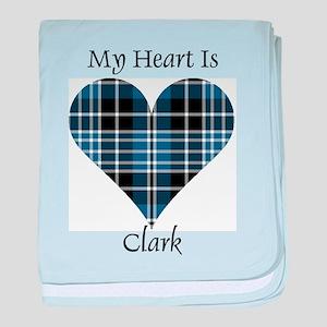 Heart - Clark baby blanket