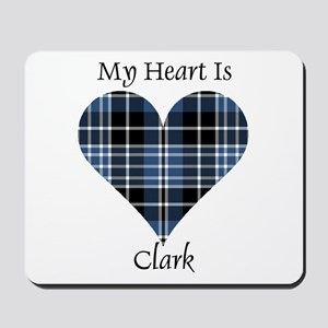 Heart - Clark Mousepad