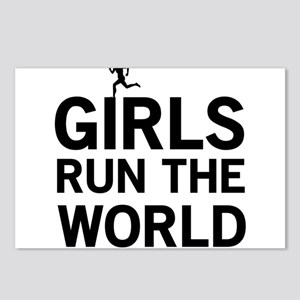 Girls run the world Postcards (Package of 8)