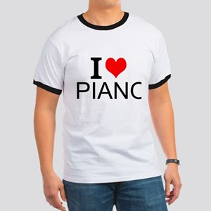 I Love Piano T-Shirt