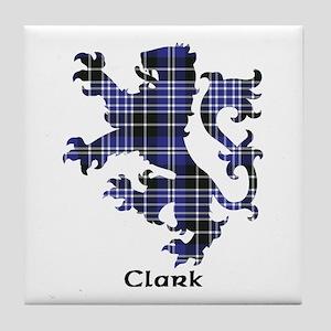 Lion - Clark Tile Coaster