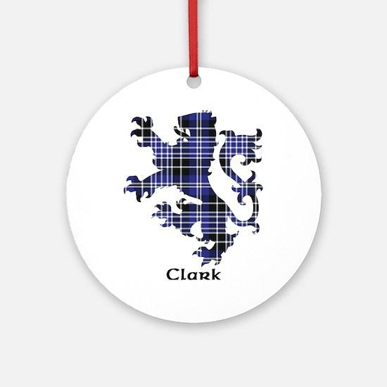 Lion - Clark Ornament (Round)