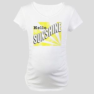 Hello Sunshine Maternity T-Shirt
