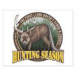 Hunting Season Small Poster
