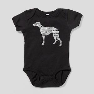 Whippet Silhouette BN Baby Bodysuit