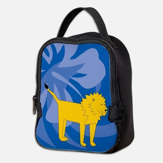 Lion Neoprene Lunch Bag