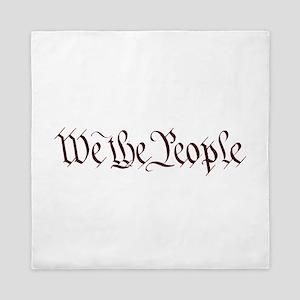 We The People Queen Duvet