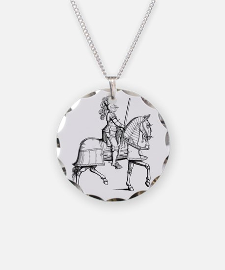 Knight In Armor Necklace
