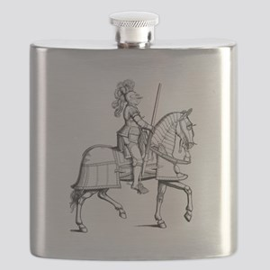Knight in Armor Flask
