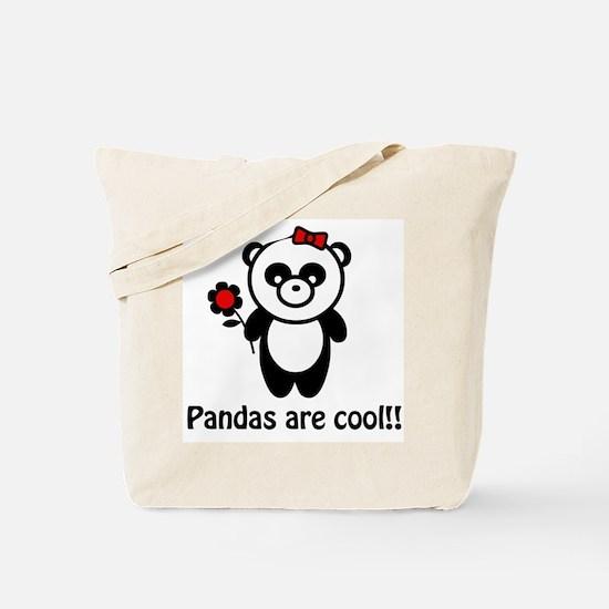 Pandas are Cool Tote Bag