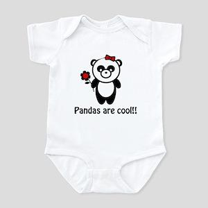 Pandas are Cool Infant Bodysuit