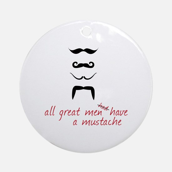 All Great Men Ornament (Round)