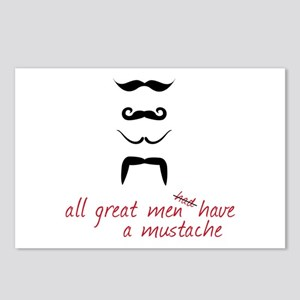 All Great Men Postcards (Package of 8)