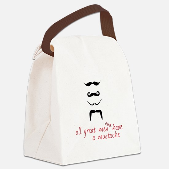 All Great Men Canvas Lunch Bag
