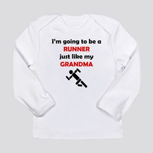 Runner Like My Grandma Long Sleeve T-Shirt