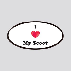 I Love My Scoot Patches