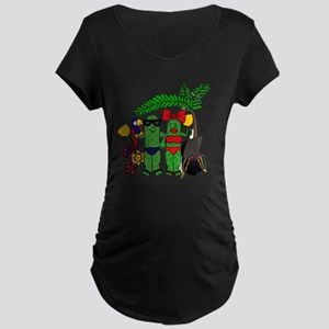 Pickles in Paradise Maternity Dark T-Shirt