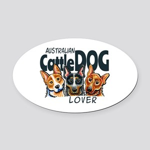 ACD Lover Oval Car Magnet