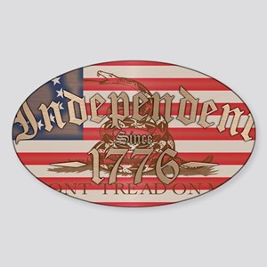 Independent Sticker (Oval)