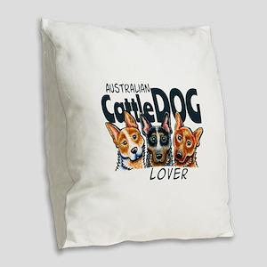 ACD Lover Burlap Throw Pillow