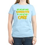Like I Care Green-Gold Women's Light T-Shirt