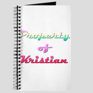Property Of Kristian Female Journal