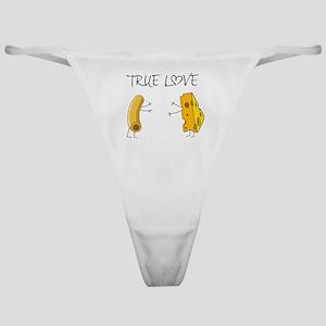 True love macaroni and cheese Classic Thong