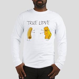 True love macaroni and cheese Long Sleeve T-Shirt