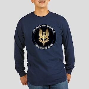 Special Air Service Long Sleeve Dark T-Shirt