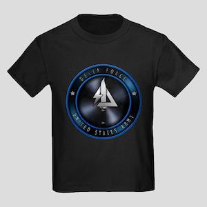 US Army Delta Force Kids Dark T-Shirt