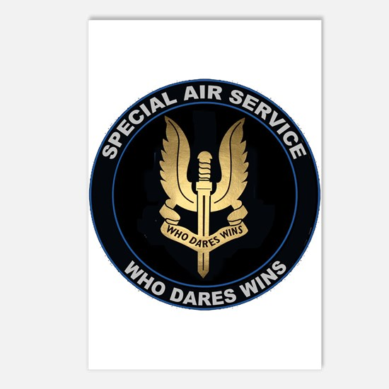 Special Air Service Postcards (package Of 8)