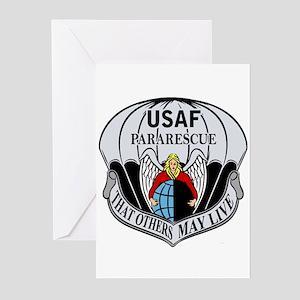 USAF PJ Logo Greeting Cards (Pk of 10)