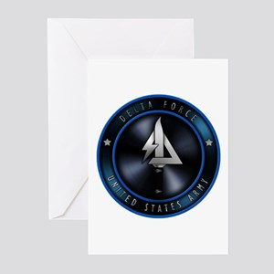 US Army Delta Force Greeting Cards (Pk of 10)