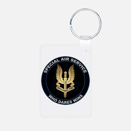 Special Air Service Aluminum Photo Keychains
