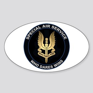 Special Air Service Sticker (oval)