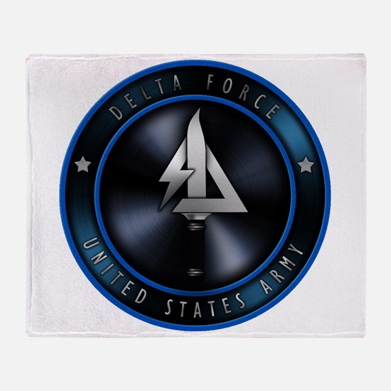 US Army Delta Force Throw Blanket