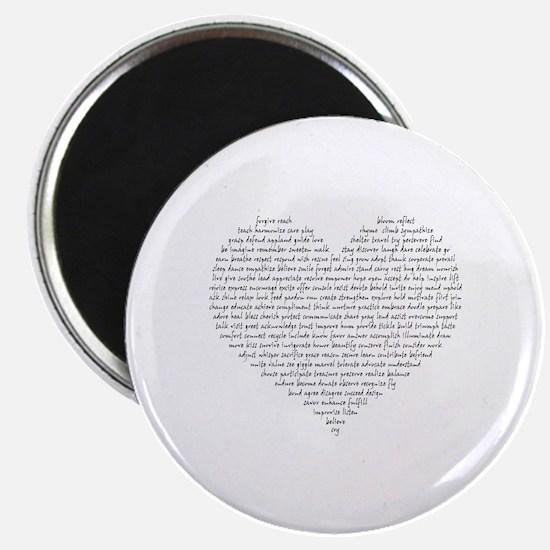Verb Heart Magnet